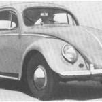1957 VW De Luxe